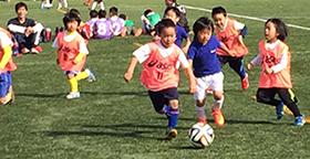 第12回葛飾区幼児サッカー交流会