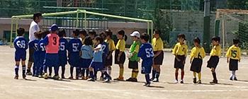 mizumo1年生練習試合