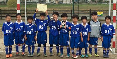 武蔵野けやきカップ2015 2年生サッカー大会
