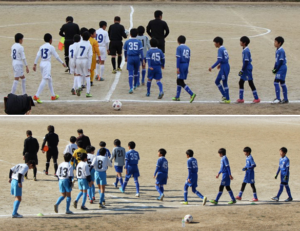 6年生第86回東京リーグBリーグサッカー試合