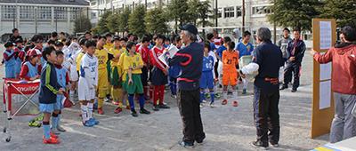 第7回 水元・金町地域交流サッカー大会葛飾総合高校