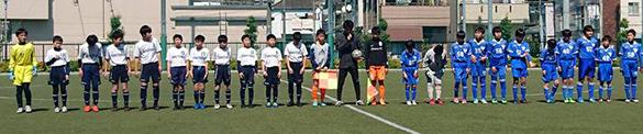 6年生修徳カップサッカー試合