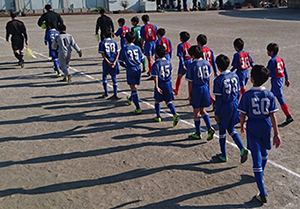 6年生第86回東京リーグBリーグ原田小学校