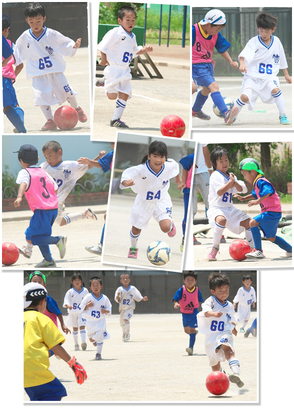 mizumo小学生2年生1年生練習試合