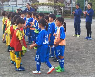 mizumo小学生2年生練習試合