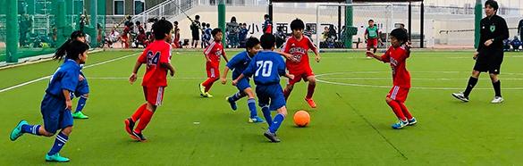 mizumo小学生3年生ジョガールSCフットサルカップ