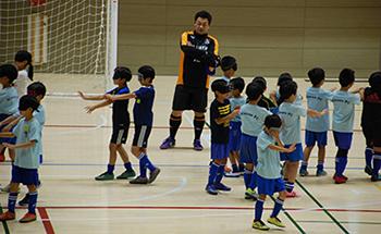 mizumo小学生3年生ブラインドサッカー体験会