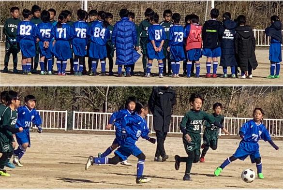 mizumo小学生3年生練習試合