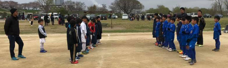 4年生 小学生サッカー練習試合