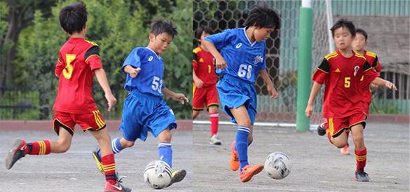 mizumo4年生サッカー練習試合