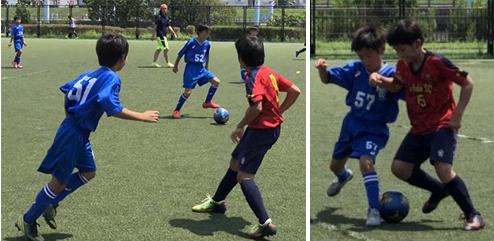 4年生江戸川区遠征 サッカー練習試合水辺のスポーツランド