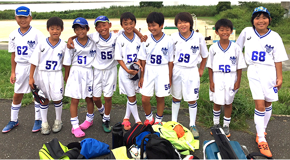 mizumo4年生サッカー練習試合四つ木グランド