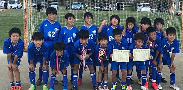 4年生小学生サッカー葛飾柴又カップ試合