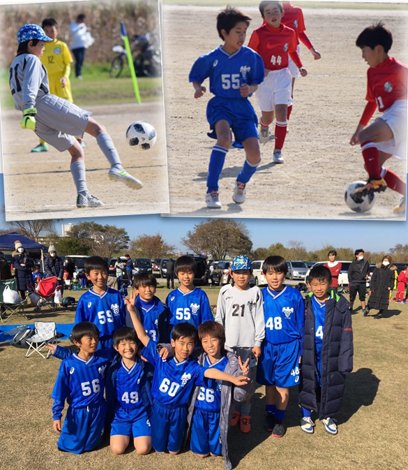 4年生小学生サッカーBチームJSL予選