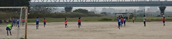 mizumo5年生サッカー練習試合