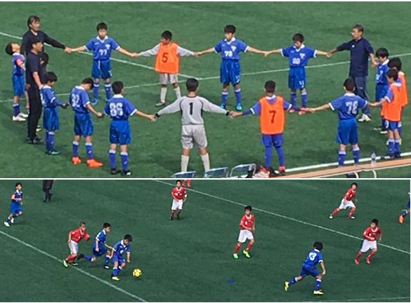 5年生JSL予選リーグ奥戸総合スポーツセンター