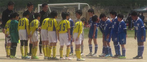 少年少女サッカー6年生 2ブロック リハウスリーグ