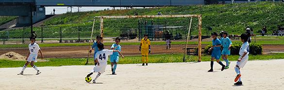 少年少女サッカー6年生 練習試合