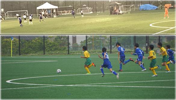 少年少女サッカー6年生B&G予選リーグ