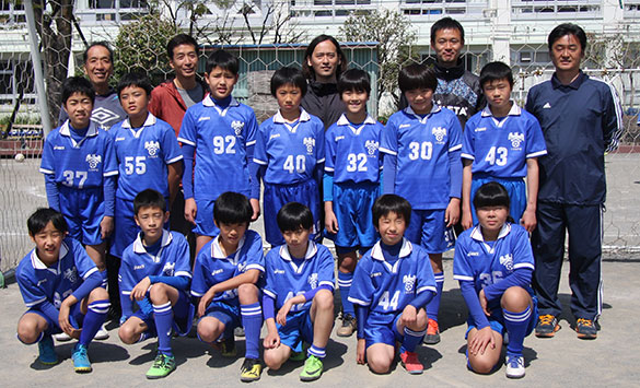 ミズモFC小学生6年生チーム