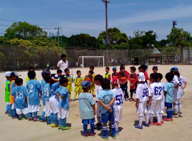 1.2年生 小学生サッカー練習試合