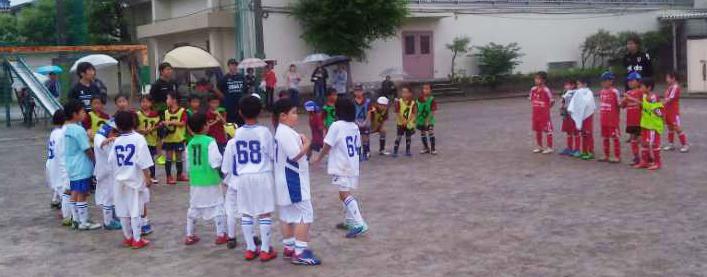 2年生 小学生サッカー練習試合
