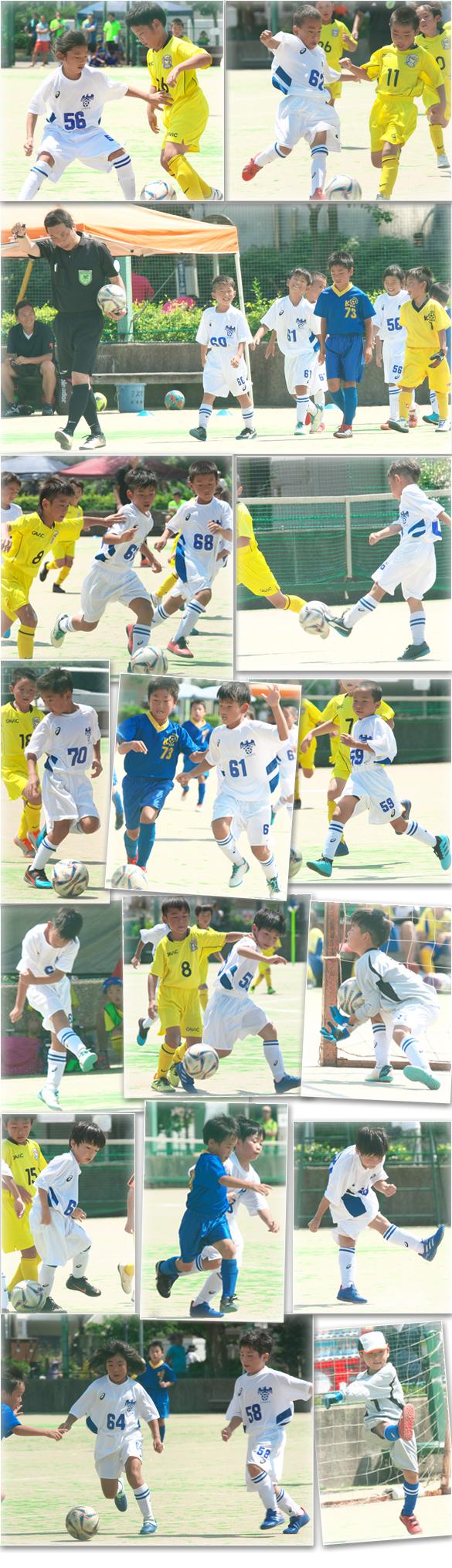 2年生 小学生サッカーB&G ベスト16