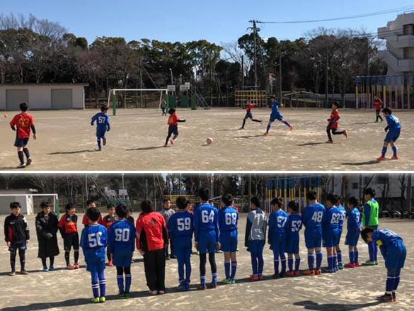 5年生 小学生サッカー練習試合